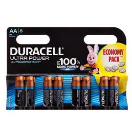 Батарейка AA Duracell LR6 Ultra Power (упаковка 8 шт.)